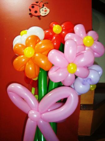 Escultura em balões