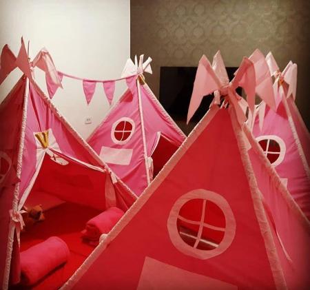 Festa do Pijama com as nossas novas Barracas!