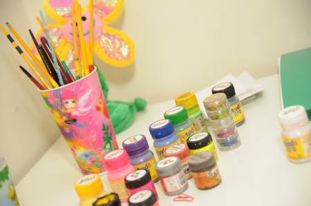 Materiais para pintura artísticas