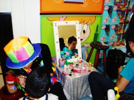 Evento com pintura facial na PB Kids