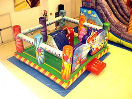 Kiddie Play Festa - Medida necessária para montagem: 6,0 x 6,,0 x 3,0