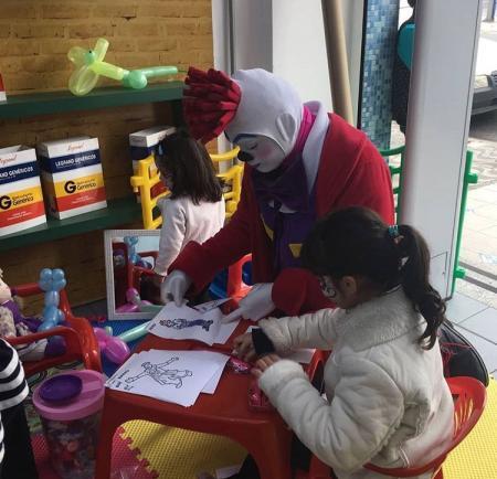 Ação em Loja - Desenhos
